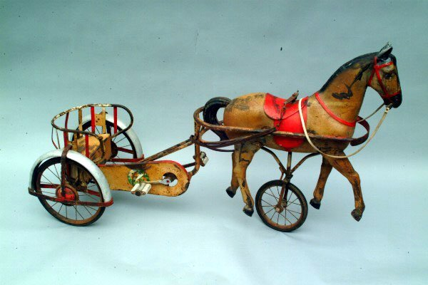 295: French Pedal Car Sulky, c. 1900