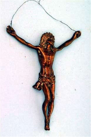 Bronze Corpus Figure, 19th c.