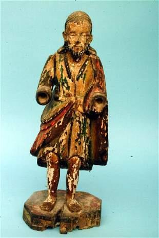 Hispano Philippine Male Santo, 19th c.
