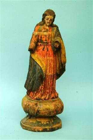 Hispano Philippine Santo, 19th c.