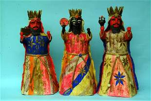 Mexican Pottery Wise Men