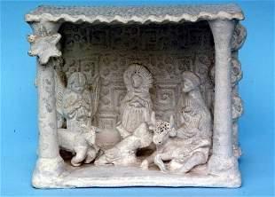 Mexican Pottery Creche