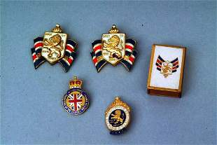 Group of British Souvenirs