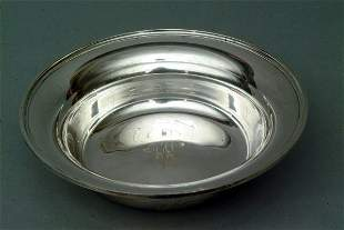 Kirk and Sons Sterling Bowl