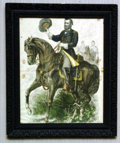 1: Gibson Print of General U.S. Grant