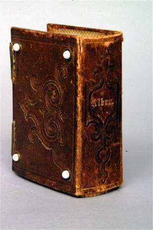 Victorian Tooled Leather Photo Album