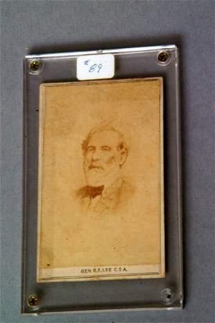 Robert E. Lee Cabinet Card