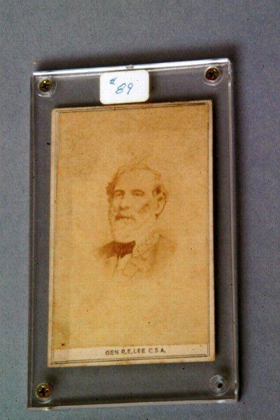 11: Robert E. Lee Cabinet Card