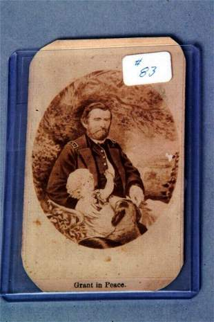 Grant in Peace, Cabinet Card