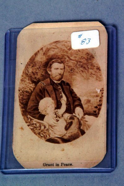 13: Grant in Peace, Cabinet Card