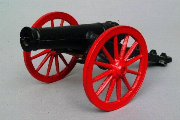 14: Miniature Cast Iron Cannon