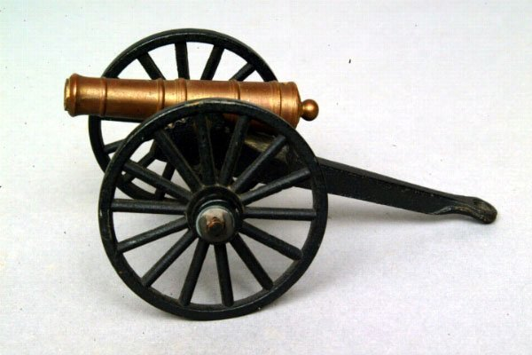 15: Another Miniature Cast Iron Cannon