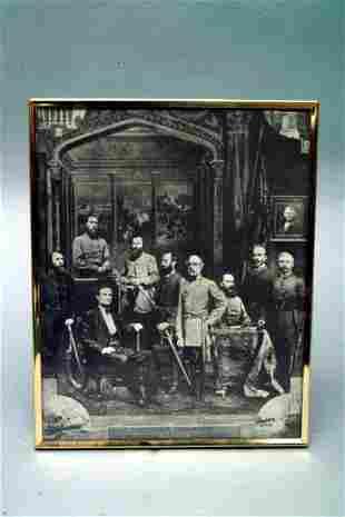 Confederate Commanders Print