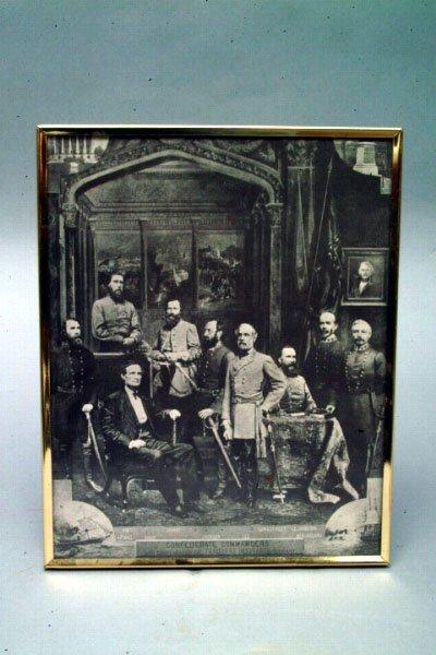 18: Confederate Commanders Print