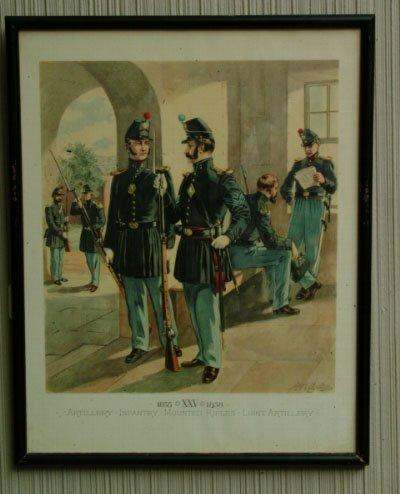 19: Set of Four H.A. Ogden Civil War Prints
