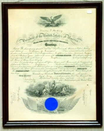22: 1920 Marine Corps Commission