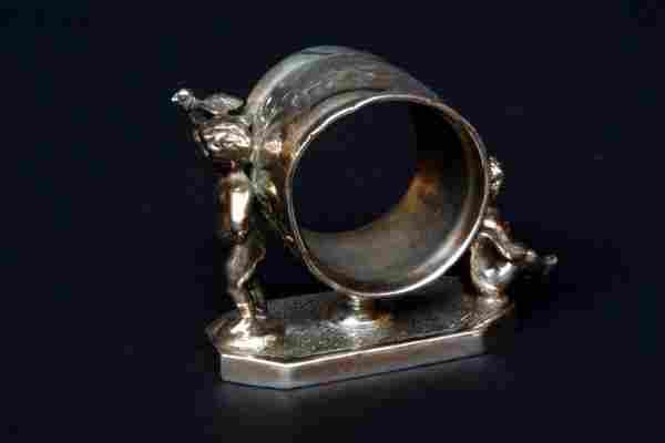 Wilcox Victorian Figural Napkin Ring