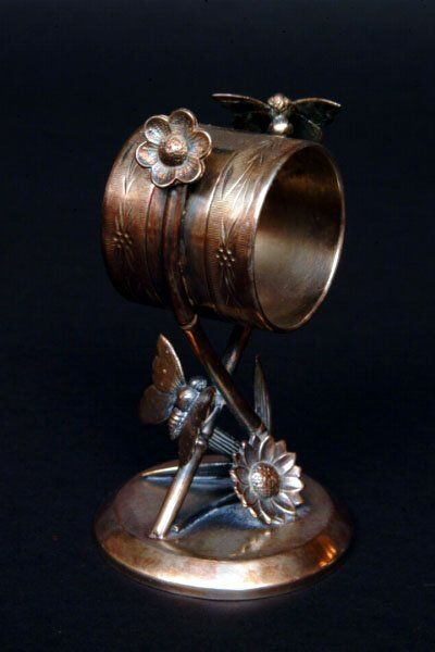 Tufts Victorian Figural Napkin Ring