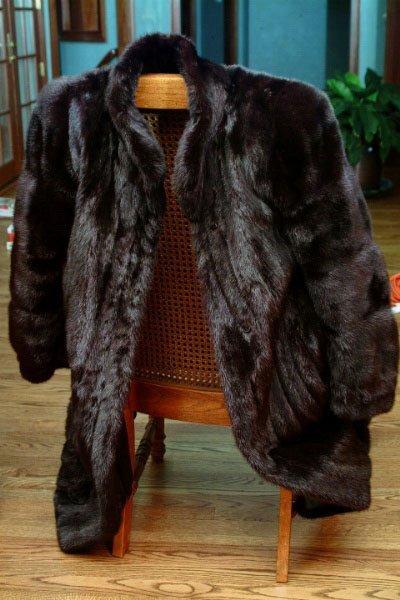 374: Vintage Furs Mink Coat