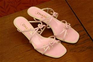 A Pair of New Chanel Sandals