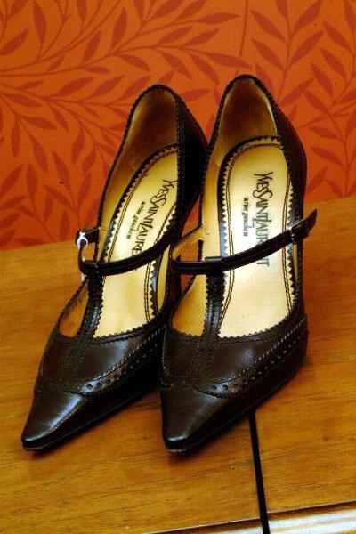 380: YSL Rive Gauche Shoes