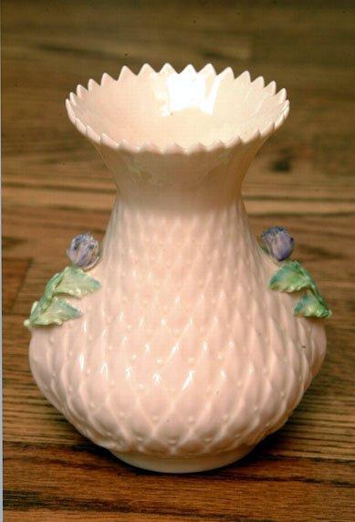 389: Belleek Vase