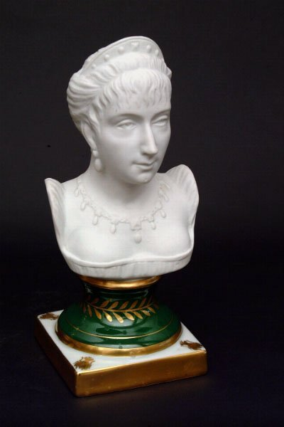 762: Limoges Bust of Josephine