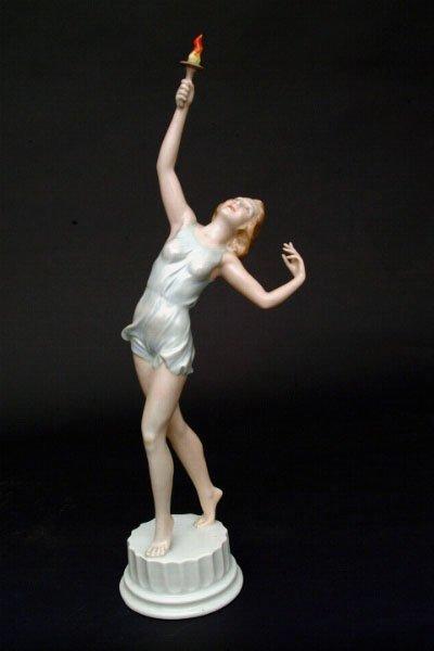 766: Rosenthal Porcelain Figure