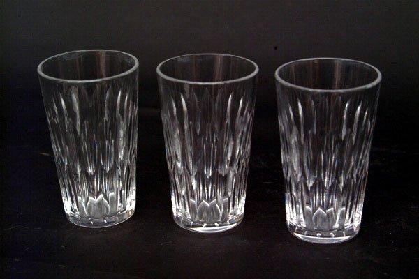771: 11 Hawkes Juice Glasses