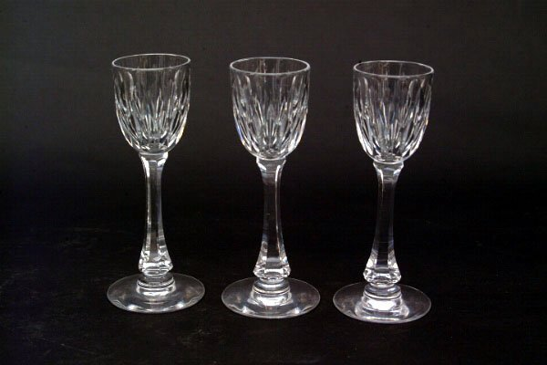 772: Eight Hawkes Cordial Glasses