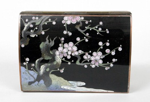 20: Kyoto Enamel Box, Japan