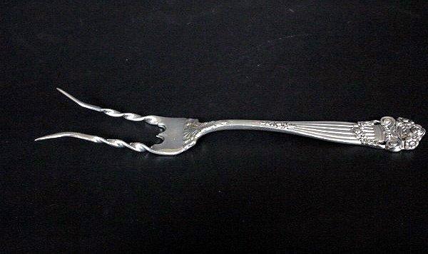 "144: Towle ""Georgian"" Potato Fork"