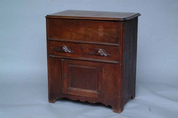 10: Walnut Dry Sink, Late 19th c.