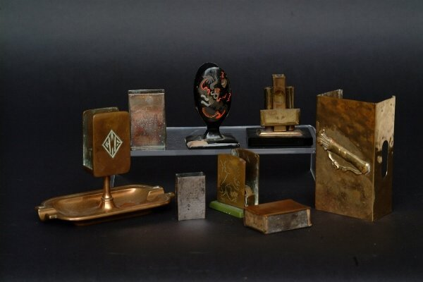 18: Lot of Match Box Holders, c 1930's