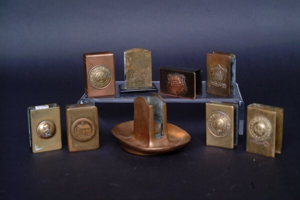 19: Lot of Match Box Holders, c. 1930's