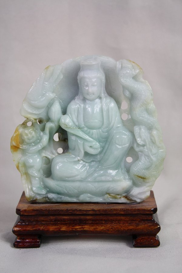 21: Chinese Carved Jade Figure