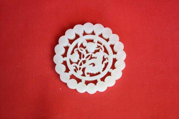 2014: Chinese White Jade Plque