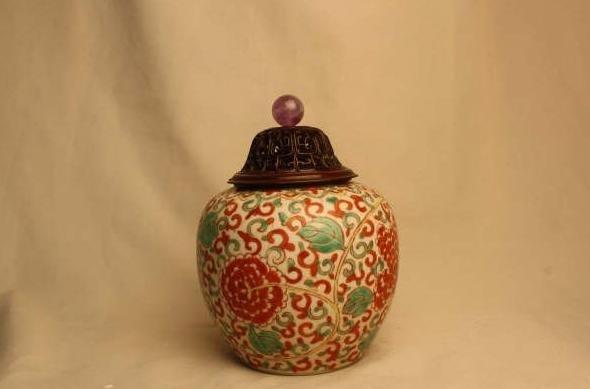 4001: Chinese Doucai Jar