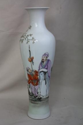 4007: Chinese Famille-rose porclain bottle