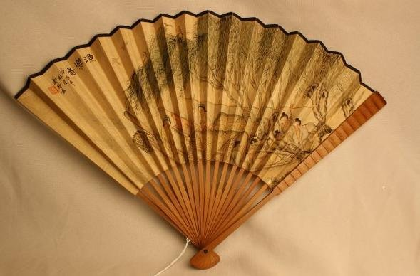 4011: Chinese Fan Painting