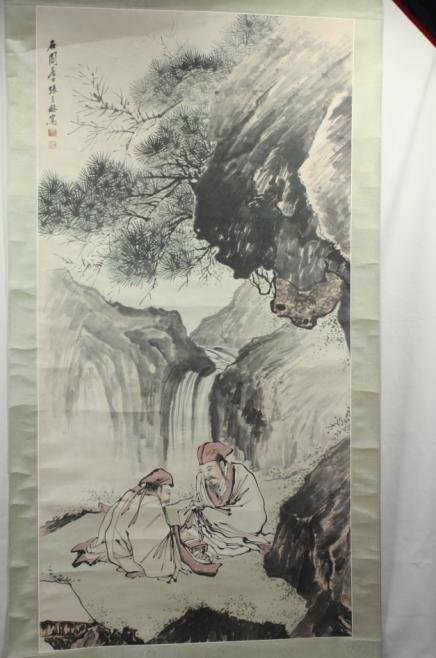 5002: Chinese Scroll Painting