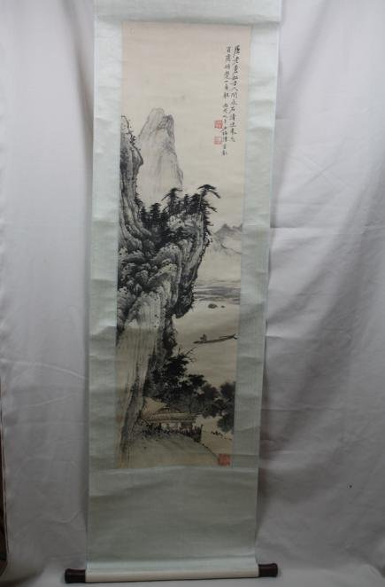 5004: Chinese Scroll Painting
