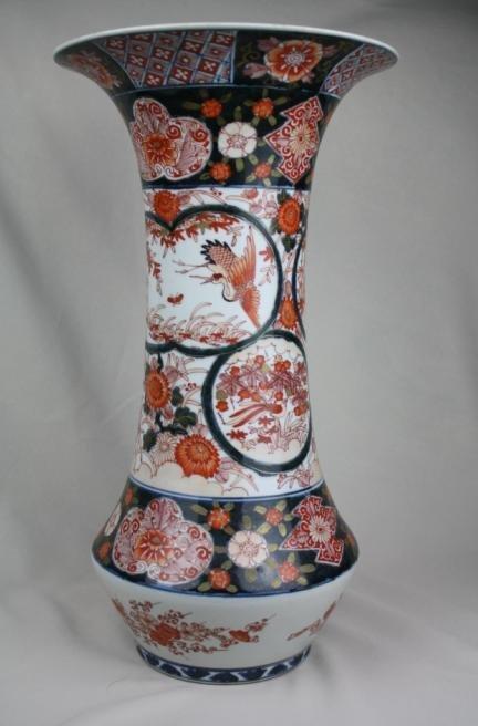 5011: Japanese Famille-rose Porcelain Vase