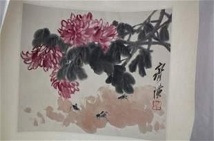 Chinese album of painting