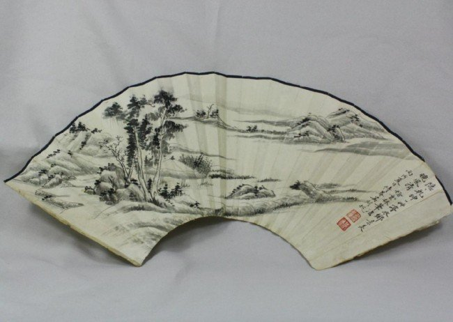 1501: Chinese Fan Painting