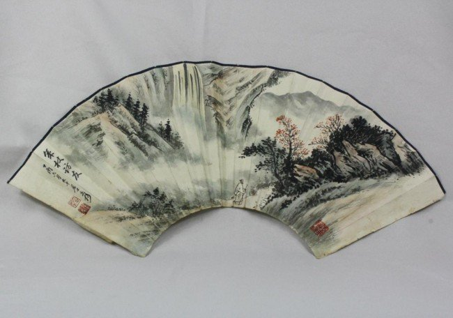 1502: Chinese Fan Painting