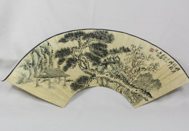 1503: Chinese Fan Painting