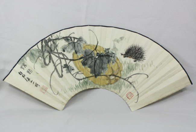 1505: Chinese Fan Painting