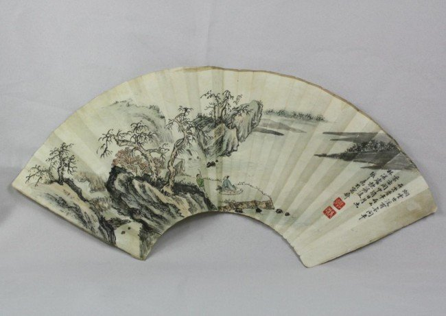 1506: Chinese Fan Painting