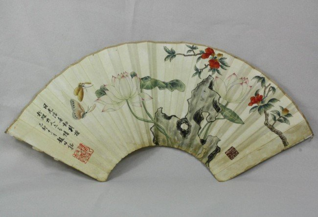 1508: Chinese Fan Painting